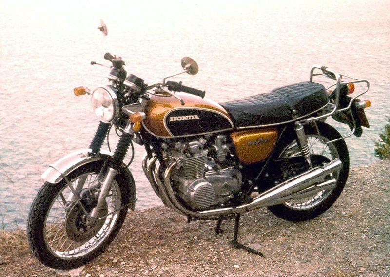 Honda CB 500 wciąż popularna